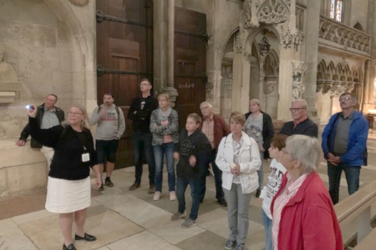 Tagesausflug der Compakt Liste Karlskron (CLK) mit Besuch im Regensburger Dom.