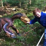Bissige Dinosaurier im Dinosaurierpark Altmühltal