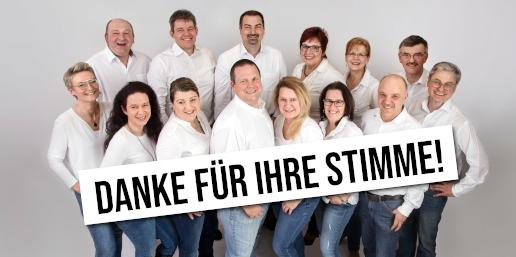 CLK-Kandidaten für die Kommunalwahl 2020 sagen Danke für die Stimmen